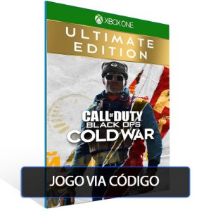 Call of Duty Black Ops Cold War - Ultimate Edition- Código 25 dígitos - Xbox One