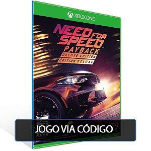 Need for Speed Payback - Deluxe Edition- Código 25 dígitos - Xbox One