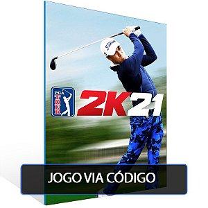 PGA Tour 2K21- Código 25 dígitos - Xbox One