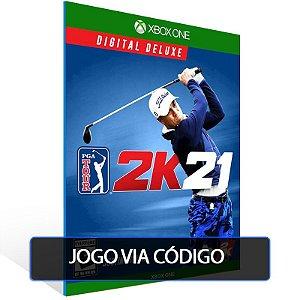 PGA Tour 2K21 Digital Deluxe - Código 25 dígitos - Xbox One