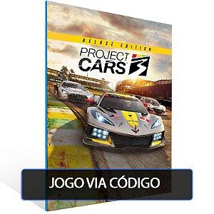 Project CARS 3 - Deluxe Edition- Código 25 dígitos - Xbox One