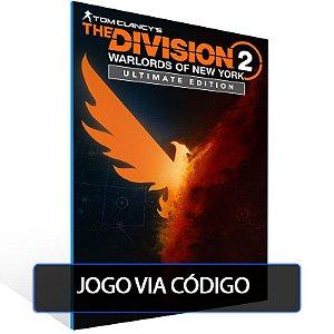 The Division 2 - Warlords of New York - Ultimate Edition  - Código 25 dígitos - Xbox One