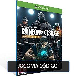 Tom Clancy's Rainbow Six®️ Siege Gold Edition  - Código 25 dígitos - Xbox One