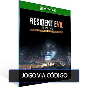 RESIDENT EVIL 7 biohazard Gold Edition- Código 25 dígitos - Xbox One