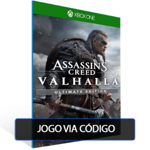 Assassin's Creed Valhalla Ultimate Edition - XBOX ONE - CÓDIGO 25 DE DÍGITOS BRASILEIRO