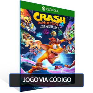 Crash Bandicoot™ 4: It's About Time- Código 25 dígitos - Xbox One