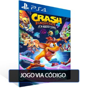 Crash Bandicoot™ 4: It's About Time- Código 12 dígitos - PS4