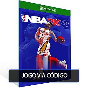NBA 2K21 Next Generation - XBOX - CÓDIGO 25  DÍGITOS BRASILEIRO