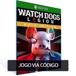 Watch Dogs Legion - GOLD EDITION- XBOX - CÓDIGO 25  DÍGITOS BRASILEIRO