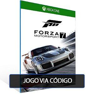 Edição Padrão do Forza Motorsport 7- Código 25 dígitos - Xbox One