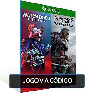 Assassin's Creed® Valhalla + Watch Dogs®: Legion Bundle - Código 25 dígitos - Xbox One