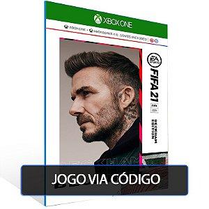 FIFA 21 Edição Beckham para Xbox One e Xbox Series X|S- CÓDIGO 25  DÍGITOS BRASILEIRO