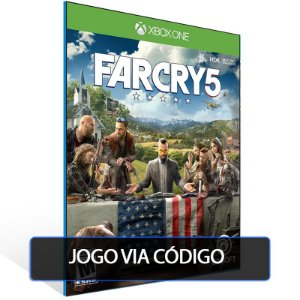FAR CRY 5 - Xbox One - Codigo de 25 digitos brasileiro