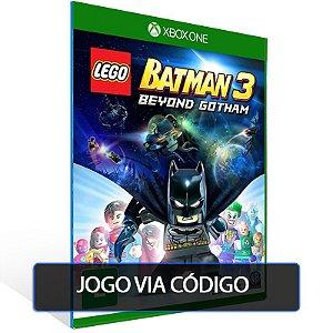 LEGO BATMAN 3 Alem de Gotham - Xbox One - Codigo de 25 digitos brasileiro