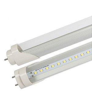 LAMPADA LED TUBULAR T8 TRANSPARENTE 18W 120CM BIVOLT