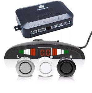 Sensor de Estacionamento 4 Pontos Display Led Sinal Sonoro