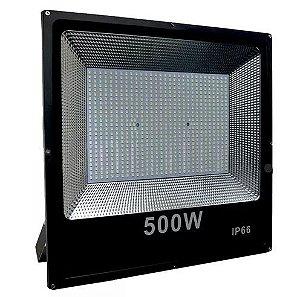 REFLETOR LED HOLOFOTE MICROLED SMD 500W IP66