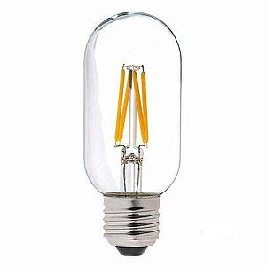 Lâmpada LED Filamento Vintage Retrô T45 4W Âmbar E27 Bivolt