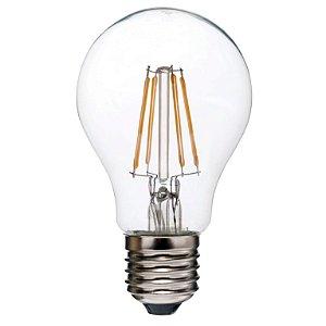 Lâmpada LED Filamento Vintage Retrô A60 4W Âmbar E27 Bivolt