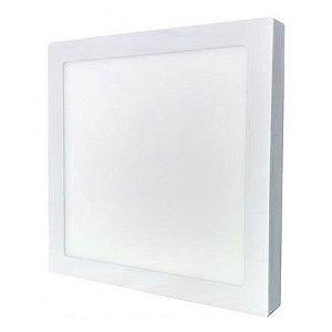 Luminária LED Sobrepor 48W 60x60cm Bivolt