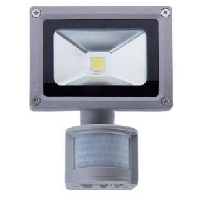 Refletor Holofote Led Sensor Presença 20w Bivolt