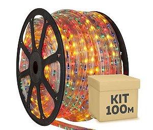 Fita Led 5050 Rolo 100 Metros RGB Ultra Intensidade