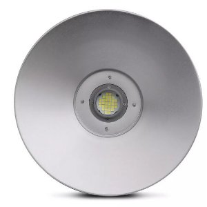 Luminária LED Industrial Highbay 100w Branco Frio 6500k Bivolt