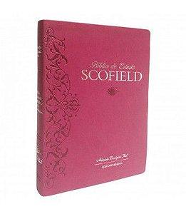 Bíblia De Estudo Scofield Com Concordância - Cereja