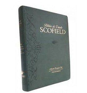 Bíblia De Estudo Scofield Com Concordância - Verde