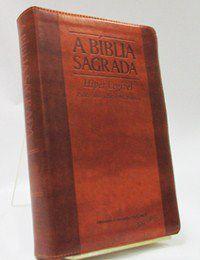 Bíblia Letra Gigante Hiper Legível Chocolate / Havana