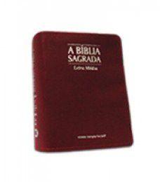 Bíblia Letra Média Zíper Vermelha
