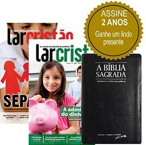 Assinatura Revista Lar Cristão - 02 anos (BÍBLIA SAGRADA ZÍPER)