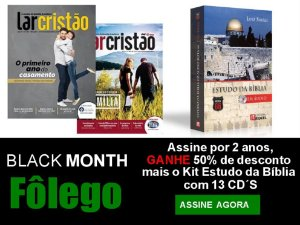 Assinatura Revista Lar Cristão - 02 anos (ESTUDO SAYÃO)