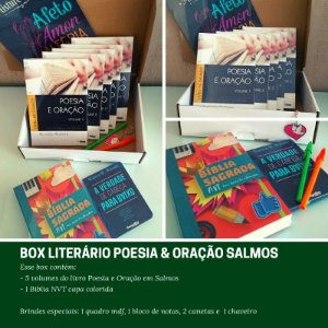 Box Literário Poesia e Oração em Salmos