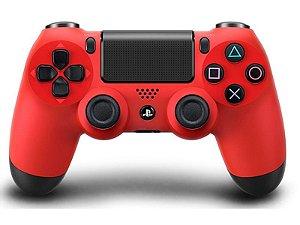 Controle PS4 Original (Dualshock 4) - Vermelho