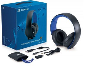 Headset Sony Gold 7.1 (Wireless)