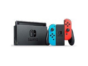 Nintendo Switch - Modelo Azul e Vermelho
