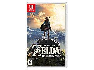 Jogo Zelda: Breath of The Wild - Nintendo Switch