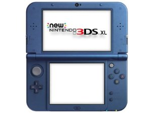 New Nintendo 3ds XL - Metallic Blue