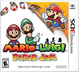 JOGO MARIO & LUIGI PAPER JAM - NINTENDO 3DS