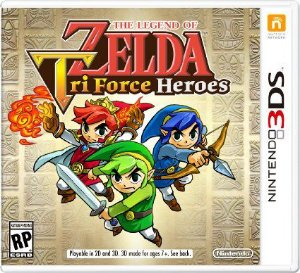 JOGO ZELDA - TRIFORCE HEROES - NINTENDO 3DS