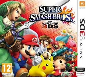 JOGO SUPER SMASH BROS - NINTENDO 3DS