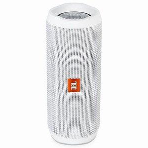 Caixa de Som JBL Flip 4 - Branco