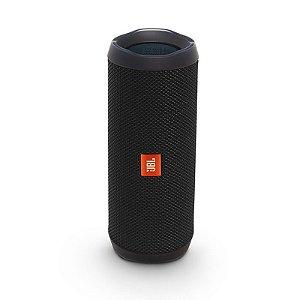 Caixa de Som JBL Flip 4 Bluetooth - Preta