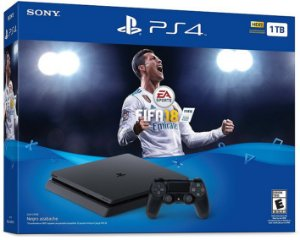 Playstation 4 1TB + Fifa 18