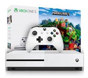Console Xbox ONE S 500GB Edição Minecraft- Microsoft