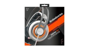 Headset SteelSeries SIBERIA 650 WHITE USB 7.1 SURROUND Dolby's ProLogic IIx and Dolby Headphone & SOUND CARD
