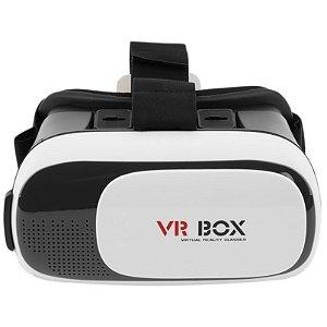 VR BOX - Oculos De Realidade Virtual 3d + Controle Bluetooth