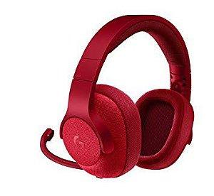 Headset Logitech G433 - Vermelho