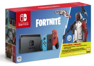 Nintendo Switch 32GB Neon - Bundle Fortnite